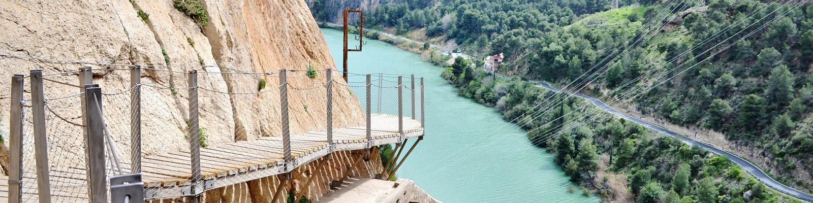 Caminito del Rey, printre cele mai spectaculoase drumuri din lume